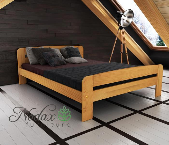 New Solid Pine Small Double Bed Frame, What Size Is A Small Double Bed In Cms