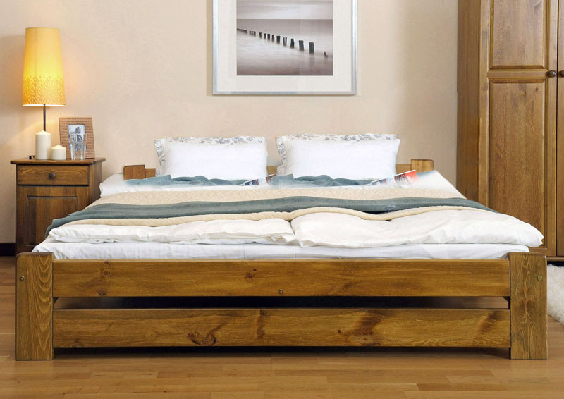 Double Bed Sale Uk Part - 50: Wooden Furniture
