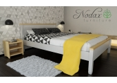 F18 RANGE Bed Frame and Bedside Units B5 - White and Pine