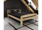 Small Double Wooden Bed Frame EU Size - ''F2''