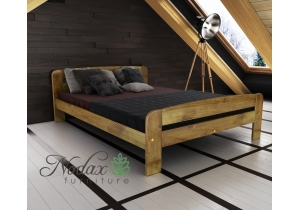 Double Wooden Bed Frame EU Size - ''F2''