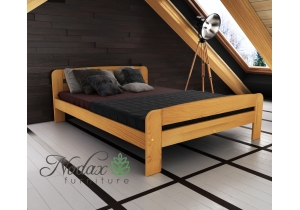 Small Double Wooden Bed Frame UK Size - ''F2''