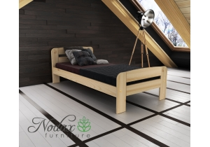 Single Wooden Bed Frame UK Size - ''F2''