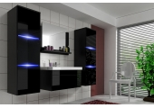 "Bathroom Furniture Set Black/Black ""30"""