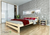 "Wooden Solid Pine Double Size Bed Frame ""F6"" 4ft6in UK Size"