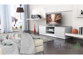White Matt Modern TV Cabinet  - Code 35