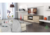 Oak Sonoma Effect Matt Modern TV Cabinet  - Code 35