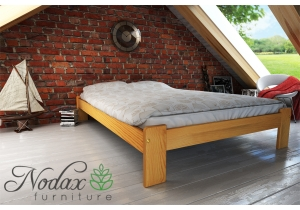Small Double Wooden Bed Frame UK Size - ''F15''