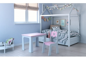 Children's Table and One Chair Sets
