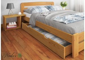 FORMULA RANGE King Size Bed Frame, Bedside Units, Underbed Storage Drawer